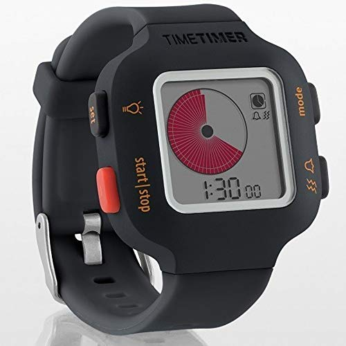 Time Timer Watch Plus - Charcoal