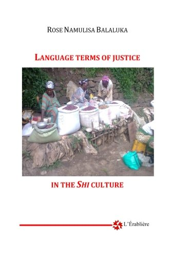 Language Terms of Justice in Shi Culture