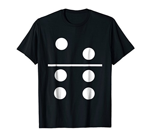 Price comparison product image Mens Dominos Group Matching Halloween Costume T-shirt XL Black