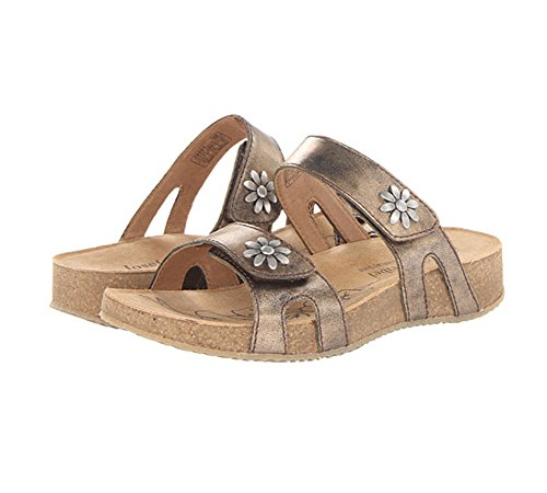 Josef Seibel Women's Tonga 04 Flip Flop, Bronze Antik Metallic, 40 BR/9-10 M US by Josef Seibel