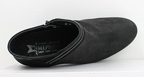 Mephisto Kvinna Britie Svart Orm / Bucksoft Boot