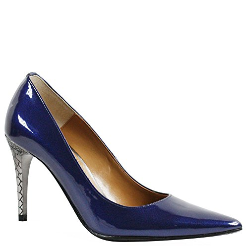J. Renee Women's Maressa Navy 8.5 M US (Blue Shoes Navy Leather Patent)