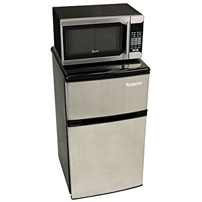 EdgeStar MICREF320 19 Inch Wide 3.1 Cu. Ft. Energy Star Rated Refrigerator and M