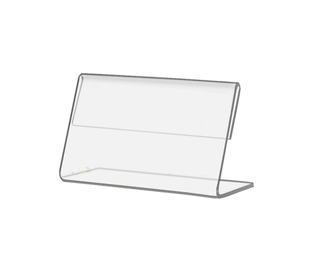 Marketing Holders 3.5''w x 2.5''h Menu Ad Literature Slant Back Sign Frame Sold in 2 Lots of 10