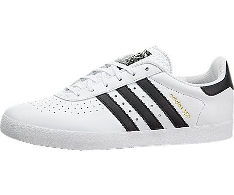 Adidas Originals Men's Adidas 350 Sneaker, White/Black Perf 10.5 M