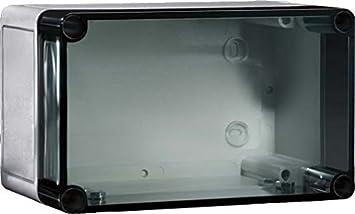 Rittal PK 9507.000 Policarbonato IP66 caja eléctrica - Caja para cuadro eléctrico (110 mm, 90 mm, 110 mm, 1,82 kg): Amazon.es: Bricolaje y herramientas