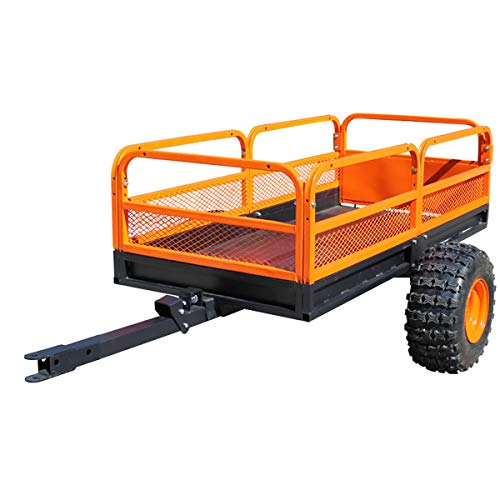 MotoAlliance Impact Implements ATV/UTV Heavy Duty Utility Cart,...