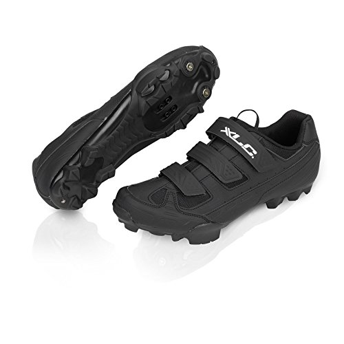 XLC scarpe mtb-cb-m06 nero, 44 (Scarpe Mtb) / shoes mtb cb-m06 black 44 (Mtb Shoes)