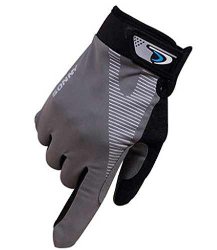 Perfect for Summer Use Climbing Gloves Outdoor Sport Gloves Cycling Gloves Gray by Panda Superstore