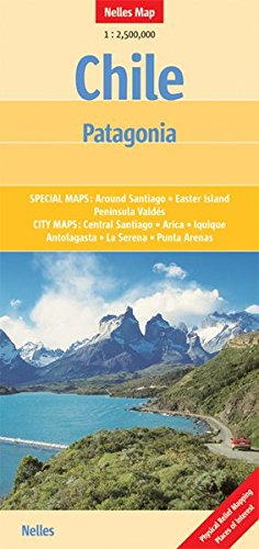 Chile - Patagonia 1 : 2 500 000 (Nelles Map)