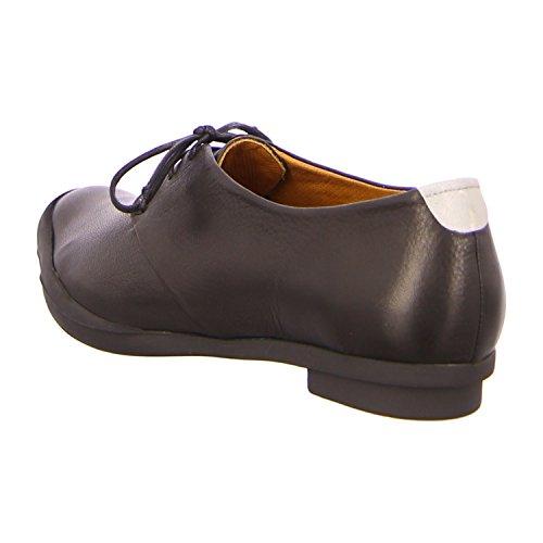 Tracey Neuls GEEK BLACK - Zapatos de cordones de Piel para mujer Negro - black+reflective