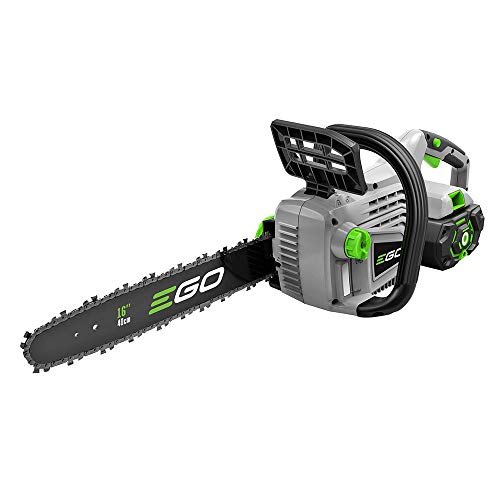EGO Power+ CS1604 16-Inch 56-Volt Lithium-ion Cordless Chainsaw Kit, Black