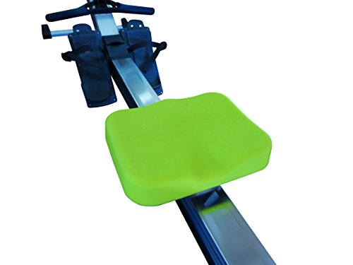 Rowing Machine Seat Cover by Vapor Fitness designed for Concept 2 Rowing Machine (Neon Yellow)