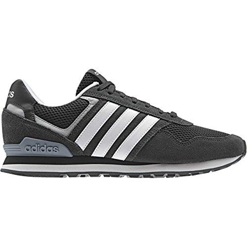 adidas 10K - Zapatillas deportivas para Hombre, Gris - (GRPUDG/FTWBLA/A.SILV) 47 1/3