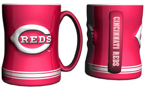 MLB Cincinnati Reds Sculpted Relief Mug, ()