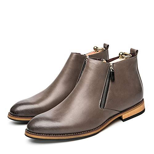 libero stile high Durevole Sunny per moda top Walking britannico il Boot classico tempo uomo amp;Baby da Grigio Stivaletti zz107a