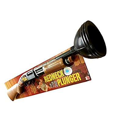 Redneck Plunger Perfect For Father's Day The Ultimate Gag Gift - Fun Gag Gifts For Your White Elephant Parties - Works As A Functioning Toilet Plunger - 100% Satisfaction Guarentee!