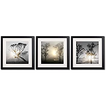 Amazon.com: Black And White Wall Art Painting For Living Room Decor ...