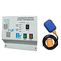 Blackt Electrotech Automatic Water Level controller with Float Switch Sensor for Overhead Tank,White