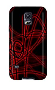 For Galaxy S5 Protector Case Black And Red Phone Cover