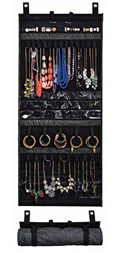 Donna Walsh, The Ultimate Jewelry Scroll - Hanging Storage Organizer - Rolls Up for Travel - 50
