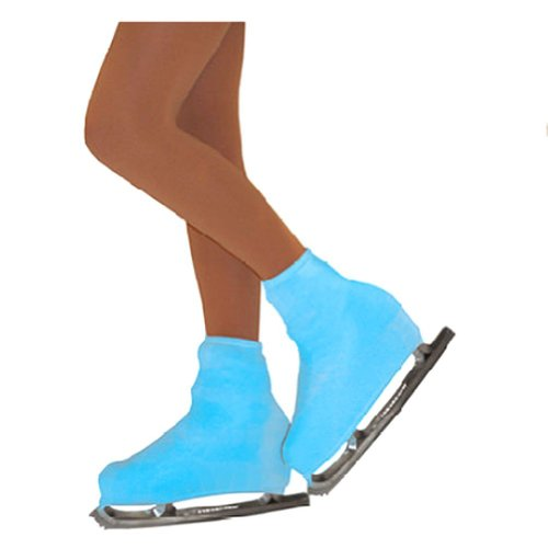 Chloe Noel Girl One Size Turquoise Boot Cover Figure Skating Accessory
