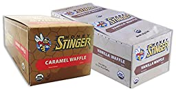Honey Waffle-Caramel/Vanilla-16 of Both Flavors (32 Total Waffles)
