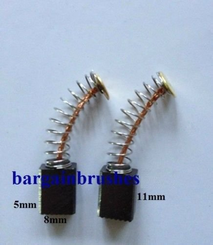Carbon Brushes Bosch SANDER PMF 180E GVS 350 AE PVS 280 A PVS 300AE PDA180 E60 BARGAINWORLDUK
