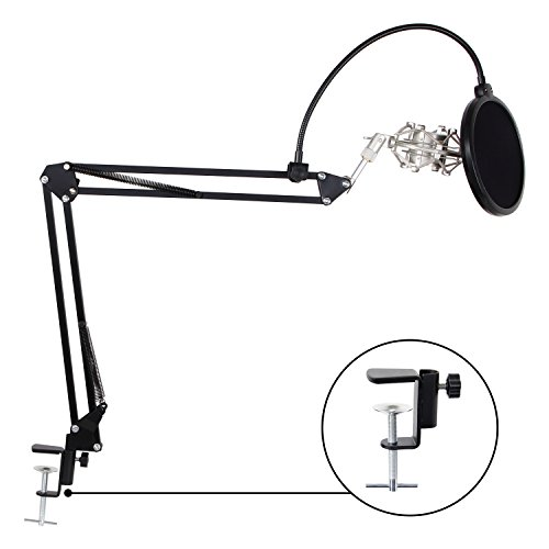 TONOR Adjustable Microphone Suspension Mounting