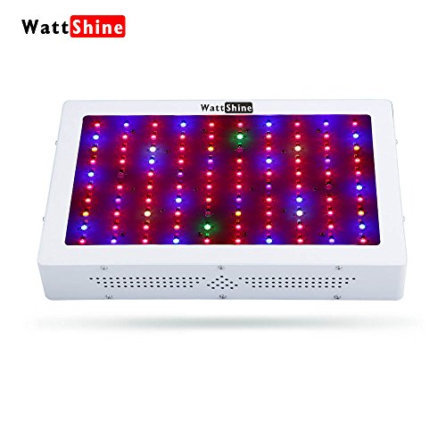 Led Grow Light 1000W, Full Spectrum 12 Band Grow Lights Double Chips Growing Lamps with UV & IR for Indoor Plants Greenhouse Hydroponic Veg and Flower by Wattshine