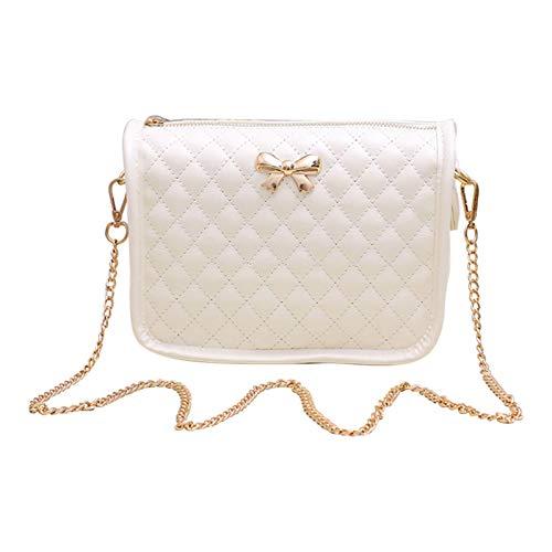 (Girls Crossbody Bag - Cute Leather Handbag For Teen Girls - Mini Crossbody Purse - Shoulder Bag)