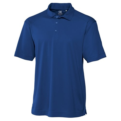 Cutter & Buck Men's CB Drytec Genre Polo Shirt, Tour Blue, XX-Large