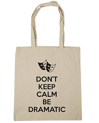 42cm Gym Shopping HippoWarehouse 10 Don't x38cm Beach Dramatic litres Keep Tote Be Natural Calm Bag vfRC1q