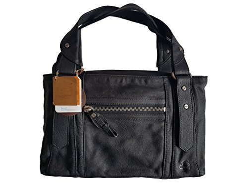 Timberland Womens Tote leather bag, black, M2003 001