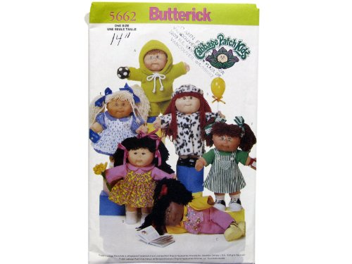 Butterick Cabbage Patch Kids Pattern 5662 ()