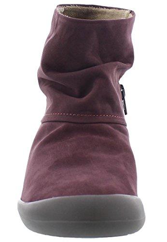 Softinos Damen Fon392sof Chukka Boots Purple