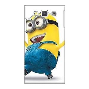 AlissaDubois Samsung Galaxy A3 High Quality Hard Phone Cover Allow Personal Design Fashion Minion Series [jaI12198arXG]