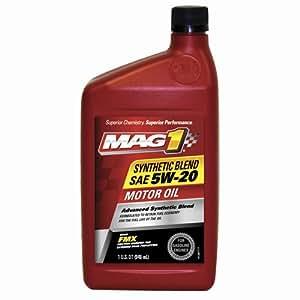 Mag 1 300 sae 5w 20 synthetic blend motor oil for Sae 20 motor oil