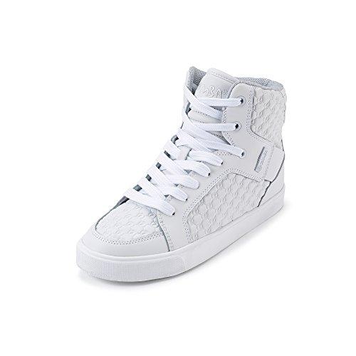 Zumba Footwear Street Boss, Zapatillas Deportivas para Interior para Niñas Blanco (white)