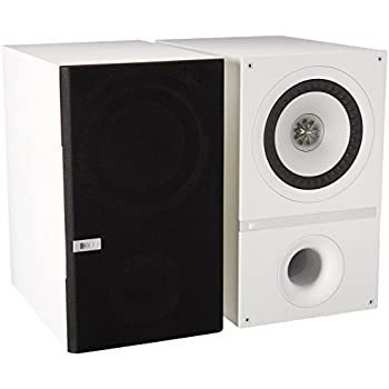 KEF Q300WH Bookshelf Loudspeakers - White (Pair)