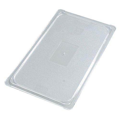 Carlisle 10296U07 StorPlus Quarter Size Polycarbonate Universal Flat Surface Food Pan Lid, Clear by Carlisle