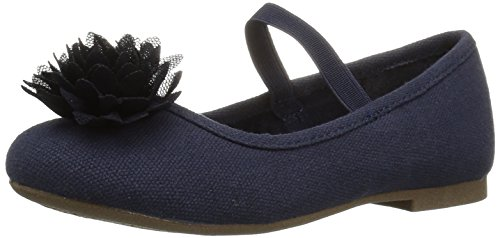 The Children's Place Girls' E TG Uni Kayla Uniform Dress Shoe, Navy, TDDLR 5 Toddler US Toddler by The Children's Place (Image #1)