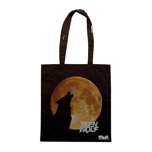 Borsa WOLF & MOON T.W. - Nera - FILM by Mush Dress Your Style