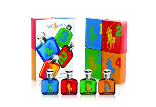 Ralph Lauren The Big Pony Miniature Collection 4 Piece Mini Gift Set for (4 Piece Miniature Set)