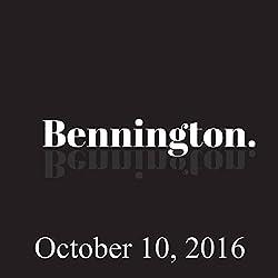 Bennington, October 10, 2016