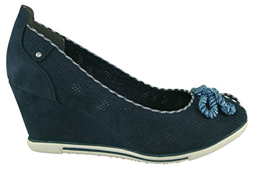 Marco Tozzi 2-2-29305-28-890 - Zapatos de vestir para mujer Navy Comb