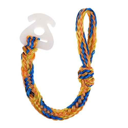 Jranter Towable Tube Tow Rope Connector Harness Water Ski Rope Wake Board Line Connection Water Sports Accessories Lake Boat for Tubing