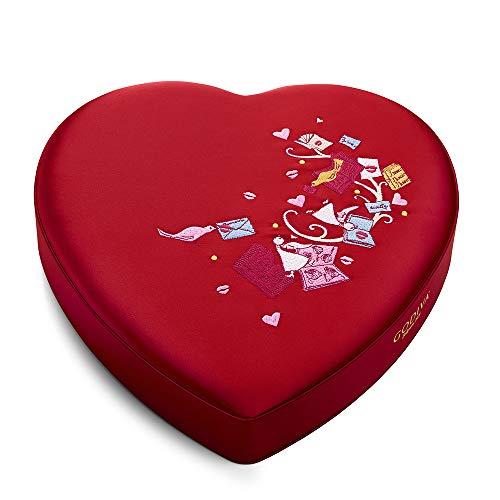 GODIVA Chocolatier Fabric Heart Chocolate Gift Box, 37 pc.