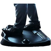 Art3d Standing Desk Anti-Fatigue Mat,Not Flat Comfort Mat with Foot Massage for Standing Workstation,26.7 x 23 Inch, Black