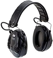 3M Peltor Tactical Sport Electronic Hearing Protection for Shooting and Hunting - Black or Orange - MT16H210F-
